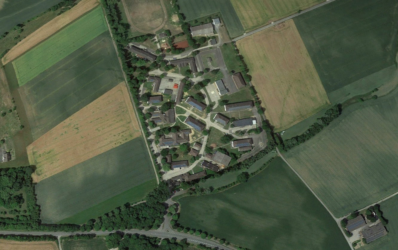 Desenberg Kaserne Luftaufnahme