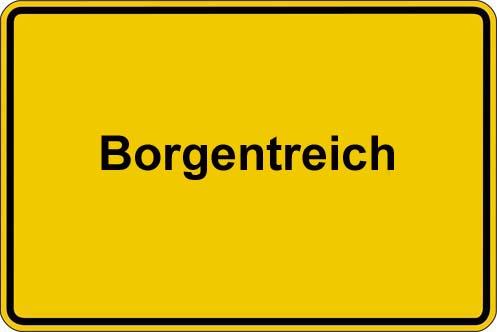 Ortstafel Borgentreich