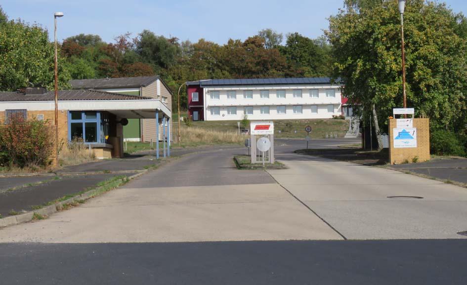 Kasereneinfahrt Harthberg-Kaserne