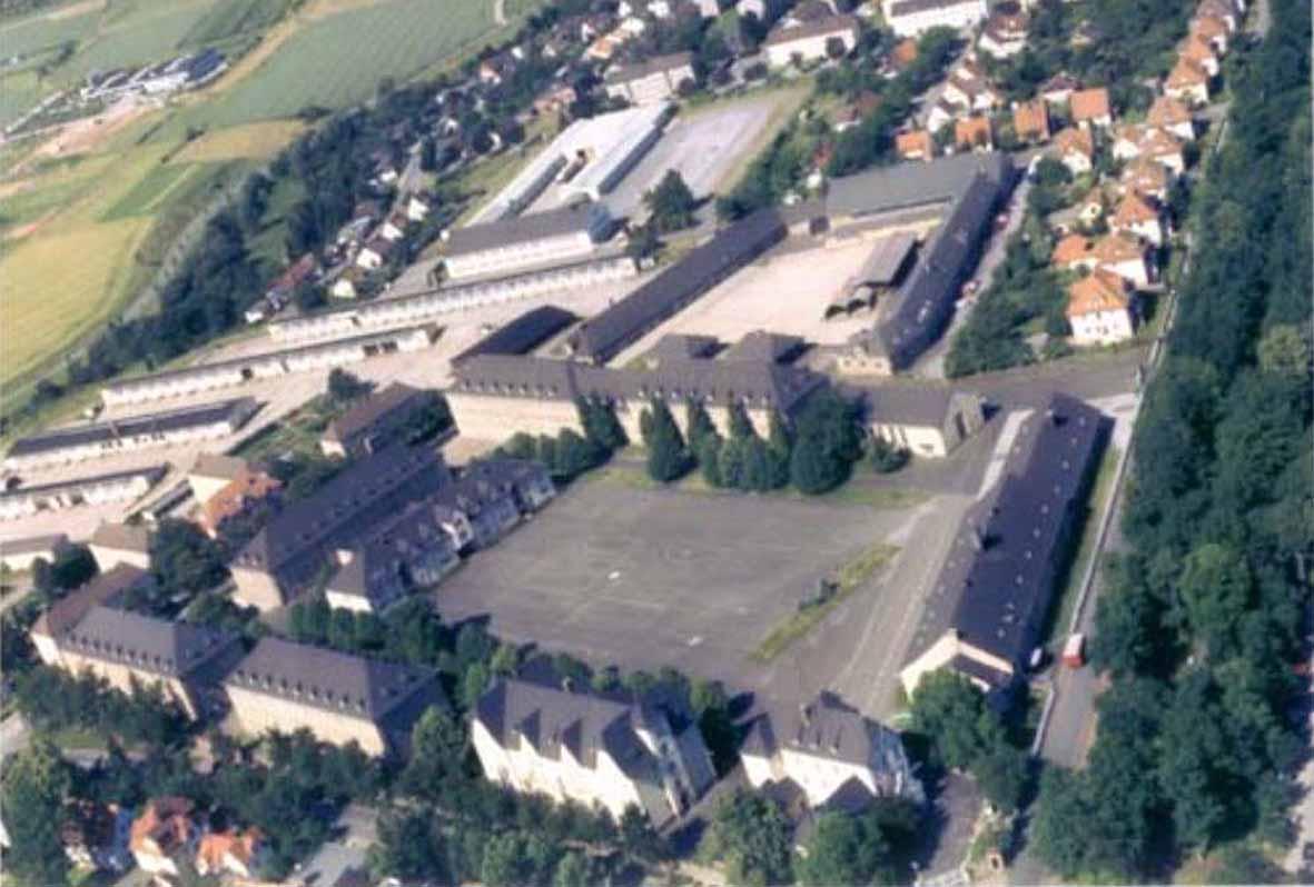 Luftbild St.Antonie Kaserne Arolsen