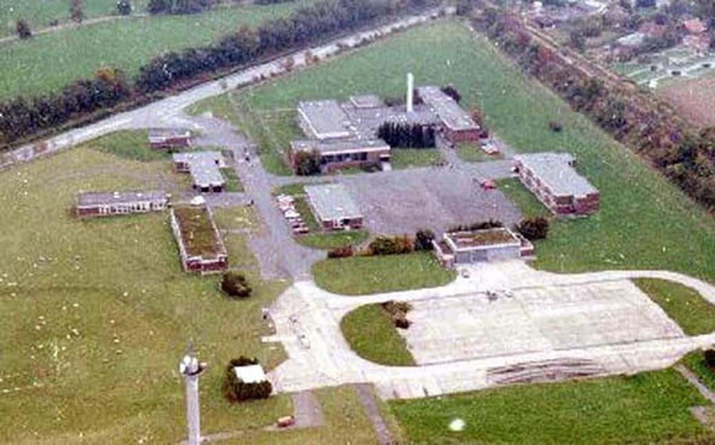 Luftaufnahme Kpt.Claes Kaserne KB