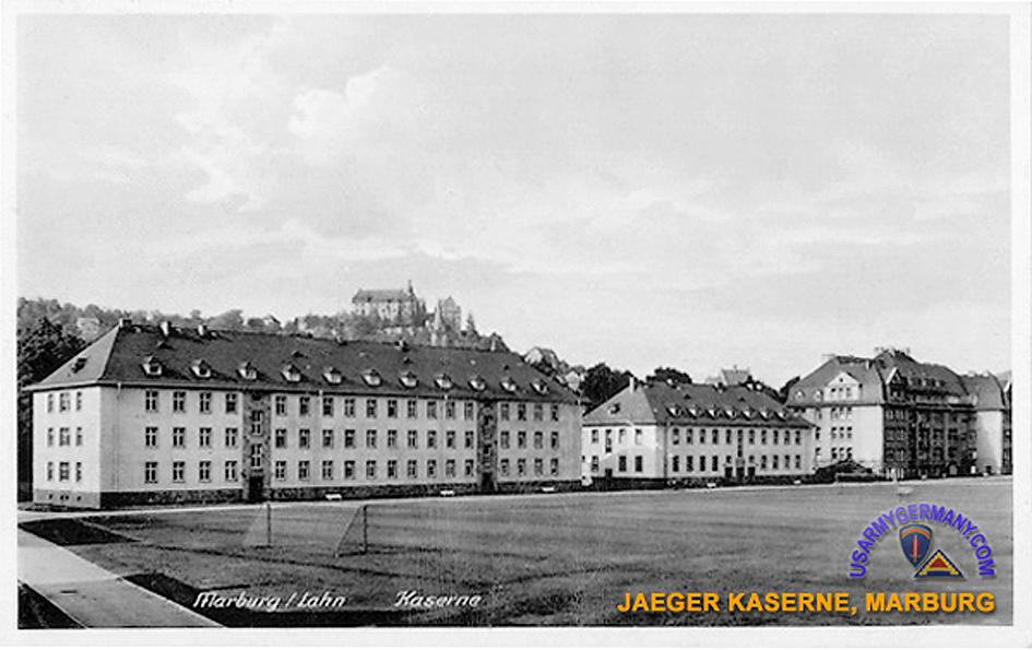 Marburg Jäger Kaserne US