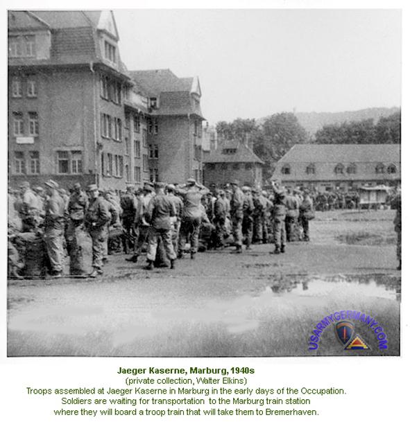 Marburg Jäger.Kaserne USArmy