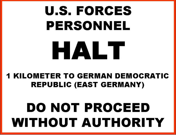 SChild US Forces Halt