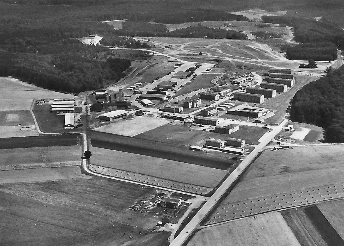Mengeringhausen Luftaufnahme Kaserne