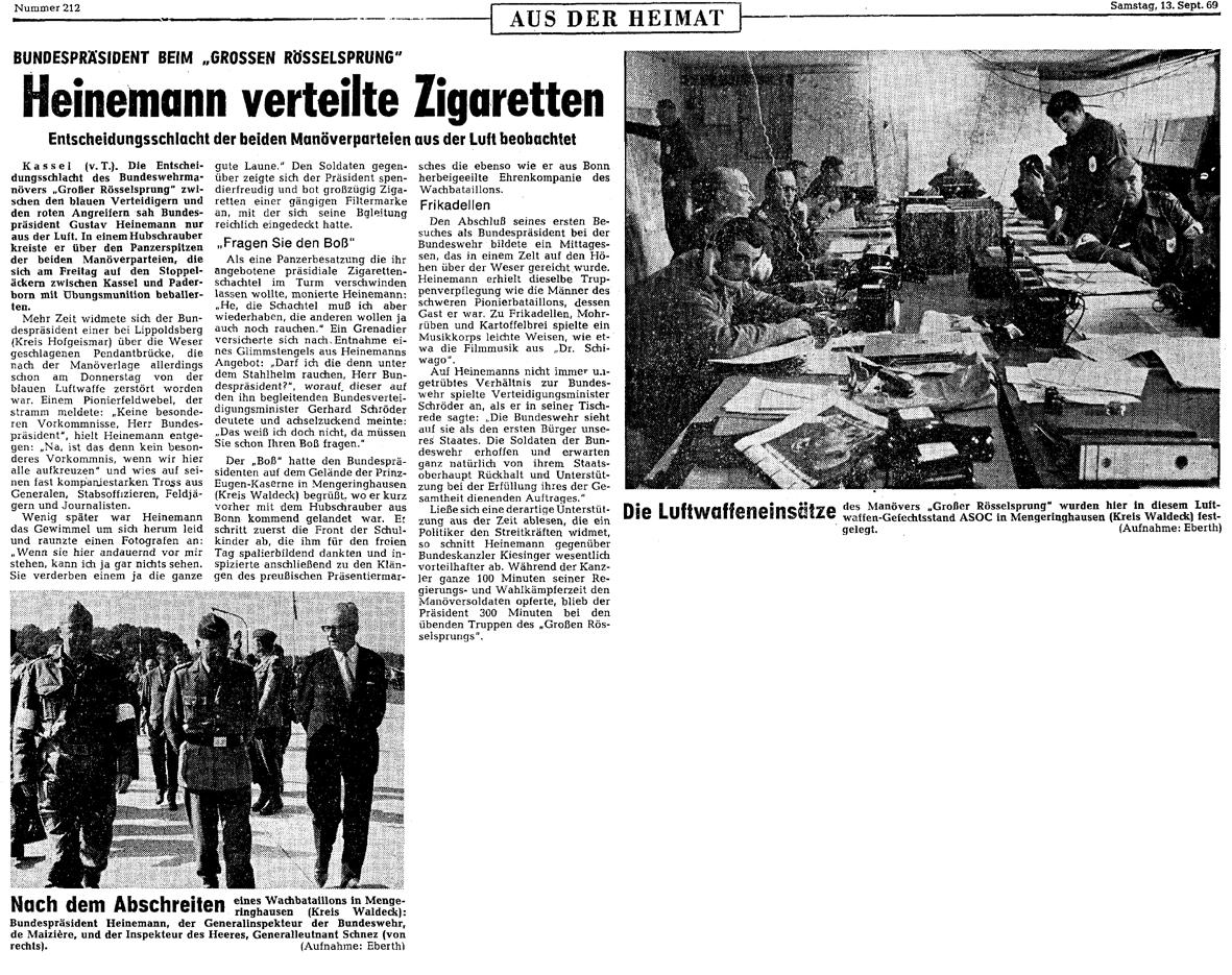 Rösselsrpung Presse 13.09.69