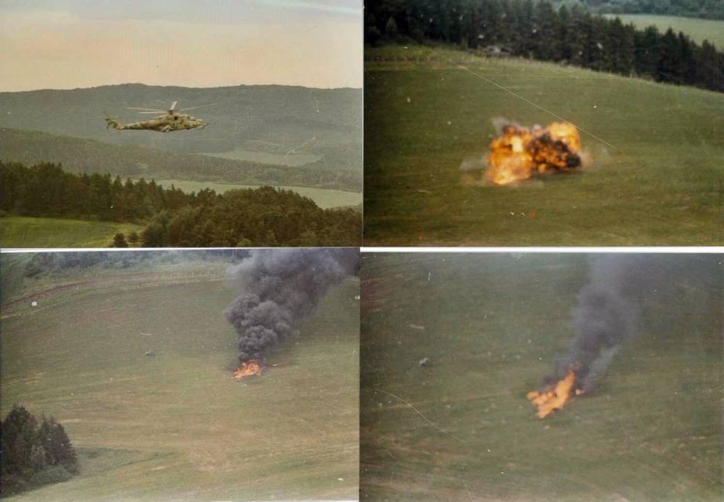 Bilder Absturz Mi24 Juni 1983