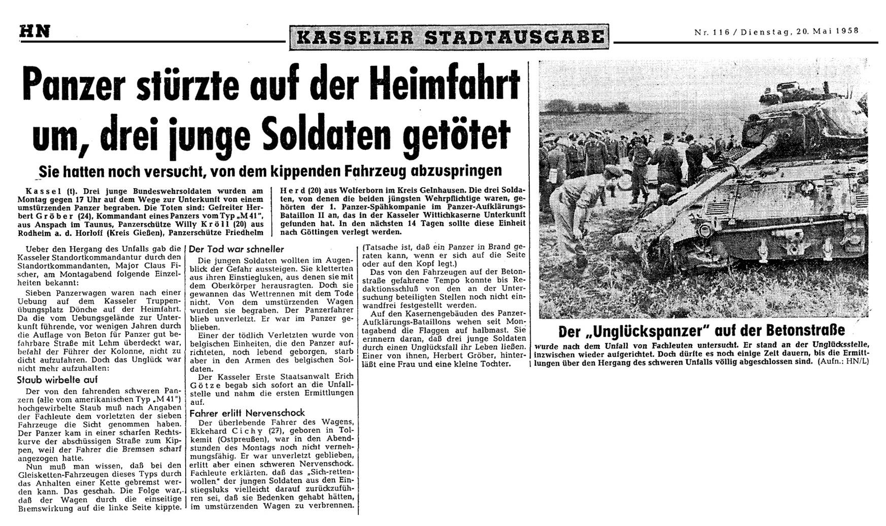 PzUnfall 19.05.1958